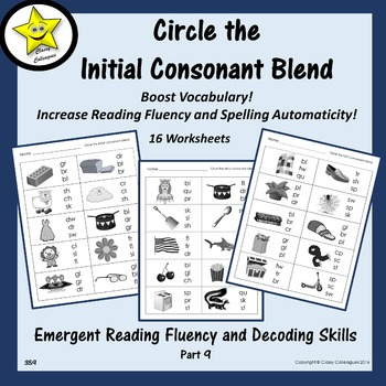 Emergent Reading Fluency and Decoding Skills, Part 9 (Begi