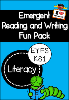 Emergent Reading and Writing Fun Pack