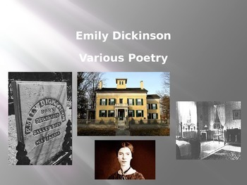 Emily Dickinson: Essential Journal Questions