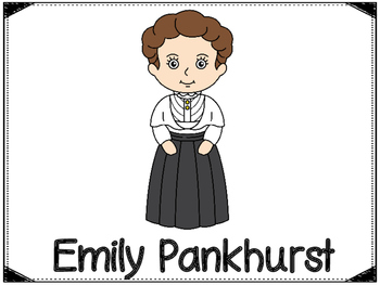 Emily Pankhurst  Graphic Organizers