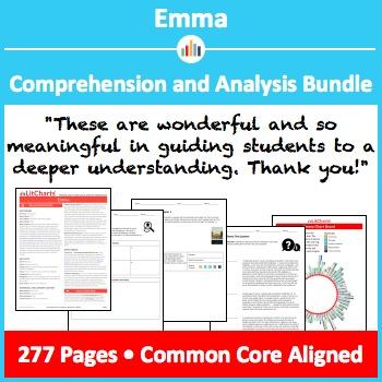 Emma – Comprehension and Analysis Bundle