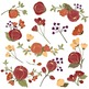 Emma Floral Clipart & Vectors in Autumn - Flower Clip Art,