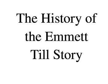 Emmett Till Timeline