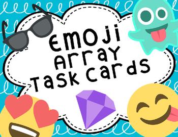 Emoji Array Task Cards