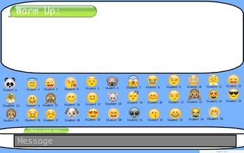 Emoji Attendance 2