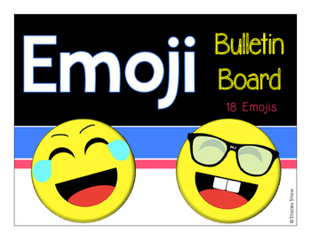 Emoji - Back to School - Bulletin Board