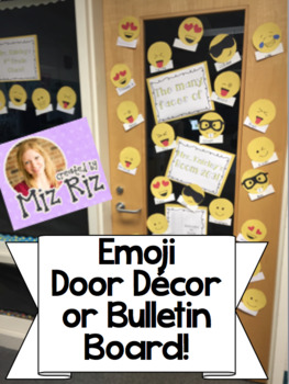 Emoji Bulletin Board/Door Decoration
