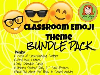 Emoji Classroom Theme Pack
