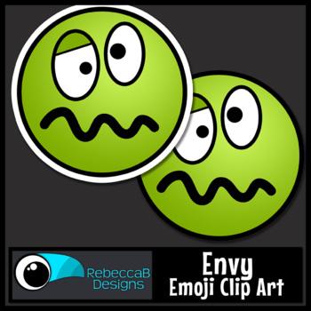 Emoji Clip Art FREE: Envy Emoji, Puke Emoji Clip Art