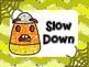 Emoji Color Clip Chart for Behavior Management - Candy Corn