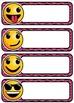 Emoji Editable Name Tags AND 3 Back to School Banners!