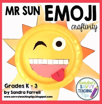 Emoji First Day of School Craft