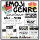 Emoji Reading Genre Posters (editable)
