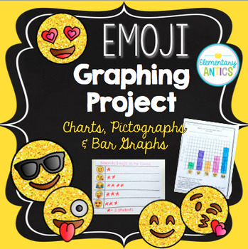 Emoji Graphing Project {Charts, Pictographs, Bar Graphs}