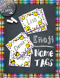 Emoji Name Tags {From Sketch to School}