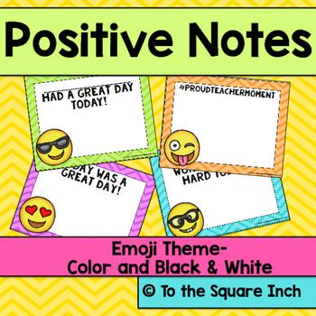 Emoji Positive Notes
