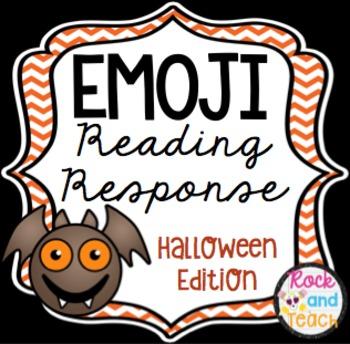 Emoji Reading Response ~ Halloween Edition