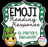 Emoji Reading Homework ~ St. Patrick's Day Edition