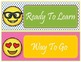 Emoji Theme Behavior Clip Chart - EDITABLE