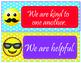 Emoji Theme Class Rules - EDITABLE