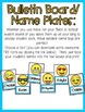 Emoji Writing Center and Classroom Decor: Pennants and Nam