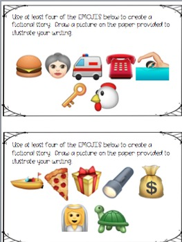 Emoji Writing Station