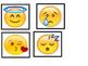 Emoji emotions matching cards