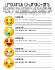 Emojinal Characters - Character Analysis and Emotion Explo