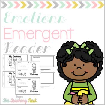 My Emotions Emergent Reader!