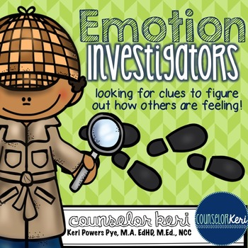 Emotion Investigators: Looking for Clues to Figure Out How
