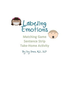Emotion Labeling Activity