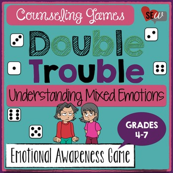 Double Trouble Game to Understand Mixed Emotions