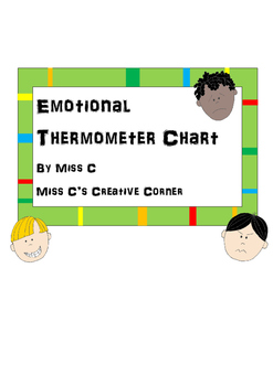 Emotional Thermometer Chart