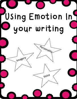 Emotional Writing creating Voice, Imagery, and Personality