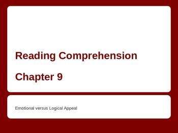 Emotional vs Logical Appeal - Powerpoint for ESL