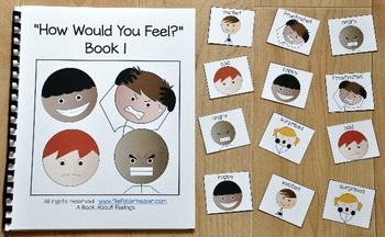 """Emotions Activities--""""How Would You Feel?"""" Mini-Bundle"""
