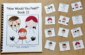 """Emotions Adapted Book:  """"How Would You Feel? 2"""