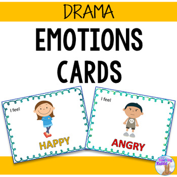 Drama Cards - Emotions