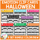 Emotion Clip Card Bundle: Halloween
