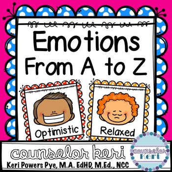 Emotions/Feelings from A to Z Posters