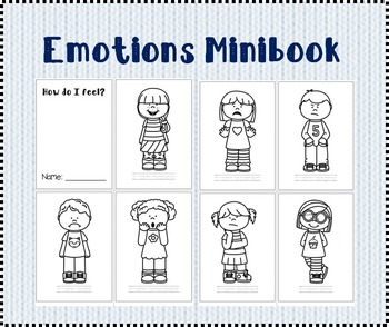 Emotions Mini-book