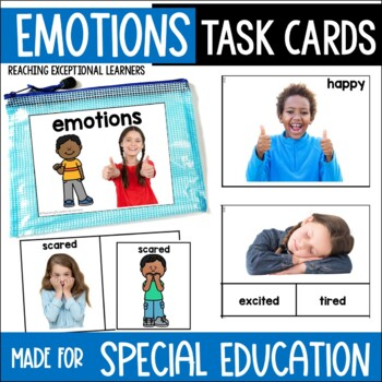 Emotions Task Card Set