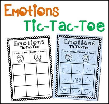 Emotions Tic-Tac-Toe