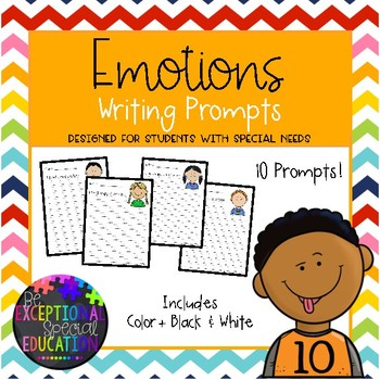 Emotions Writing Prompts