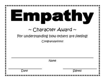 Empathy Character Award