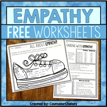 Empathy Worksheet Freebie!!