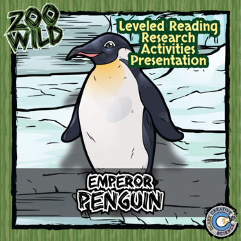 Emperor Penguin -- 10 Resources -- Coloring Pages, Reading