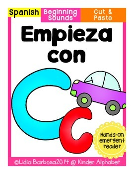 Empieza con Cc {Cut & Paste Emergent Reader}