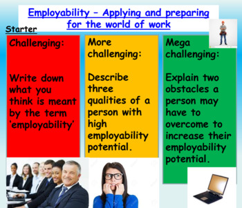 Employment - Skills, Application and Preparation (1hr PP,