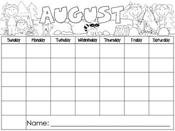 Empty Calendars